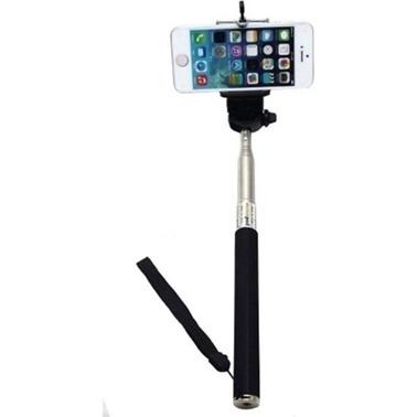 Lopard Monopod Selfie Çubuğu Özçekim Çekim Fotoğraf Tüm Telefonlara Uyumlu Renkli